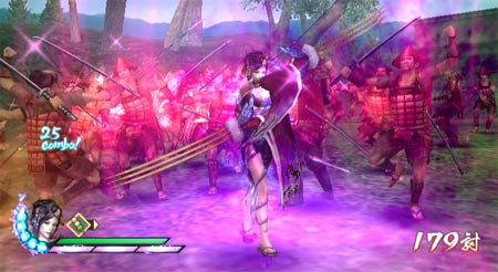 screens: samurai warriors 3
