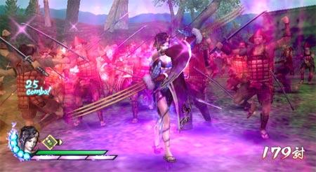 screens: samurai warriors 3