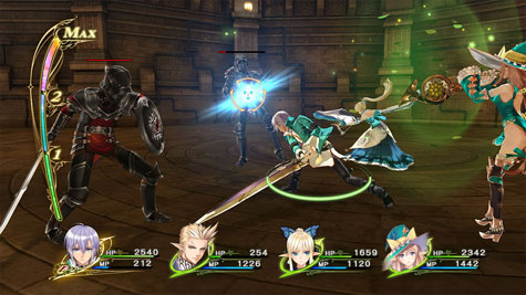 screenshots (II): shining resonance