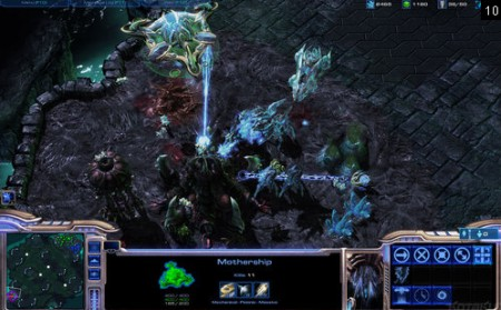 screens: starcraft II