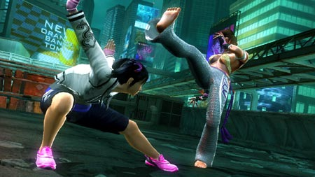 screenshots (II): tekken 6