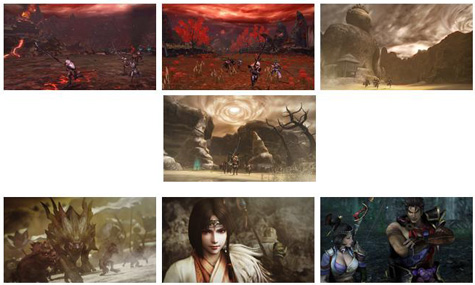 screens: toukiden