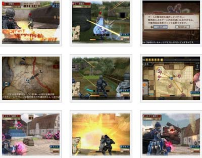 screenshots: valkyria chronicles 3