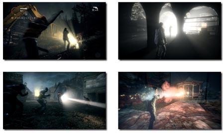 screenshots (III): alan wake