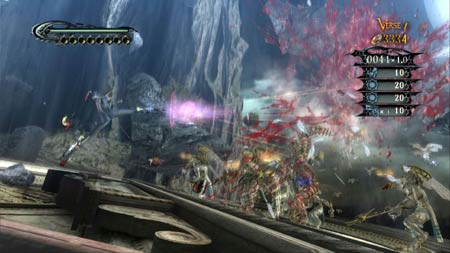 screens: bayonetta