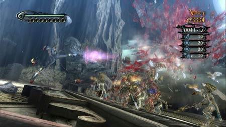 screenshots (III): bayonetta