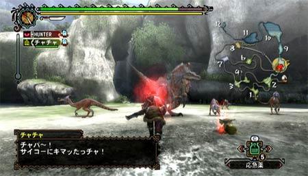 screens: monster hunter 3