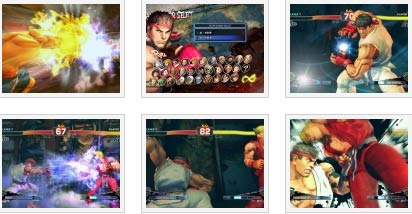screens: super street fighter IV
