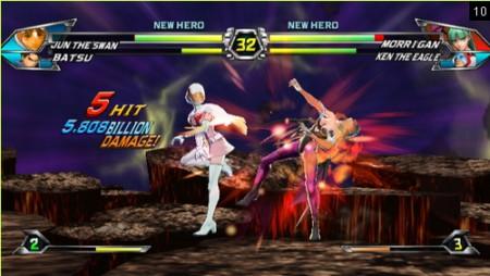 screens: tatsunoko vs capcom