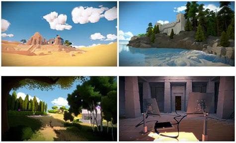 screenshots (II): the witness