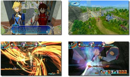 screenshots (IV): arc rise fantasia
