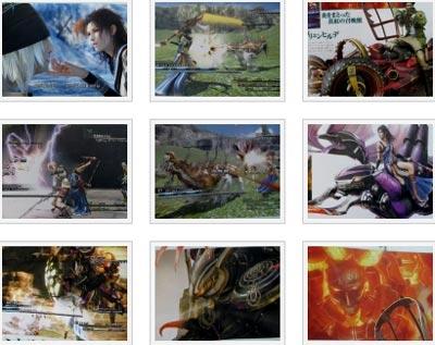 screenshots: final fantasy XIII