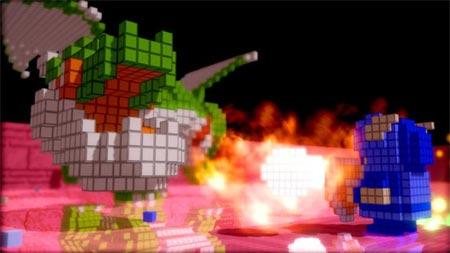 screens: 3d dot game heroes