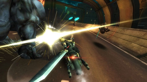 screens: final fantasy VII g-bike