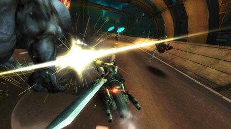 screens: final fantasy VII g-bike