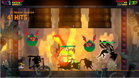 screens: Guacamelee! Super Turbo Championship Edition