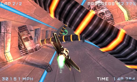screenshots: airace speed