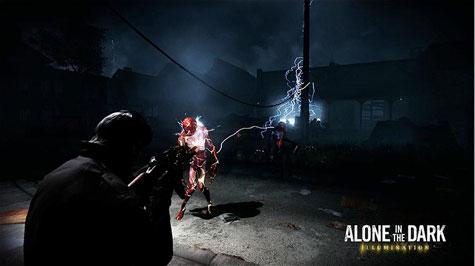 screens: alone in the dark: illumination