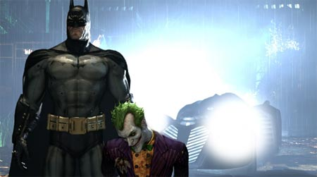 screens: arkham asylum