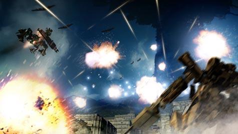 screenshots (II): armored core: verdict day