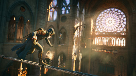 screens: assassins creed: unity