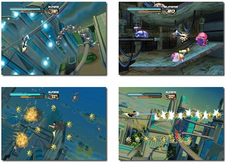 screenshots: astro boy