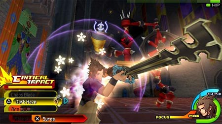 screens: kingdom hearts birth by sleep