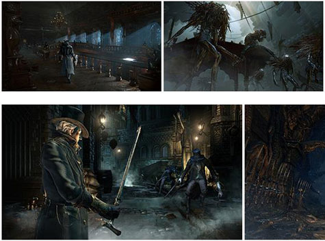screens: bloodborne