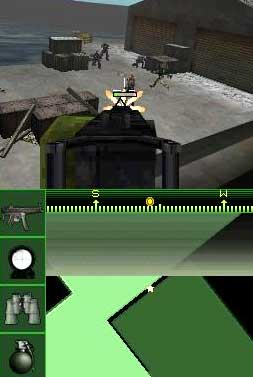 screenshots: call of duty ds