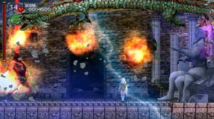 screenshots: castlevania dracula x chronicles