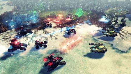screenshots: command & conquer 4