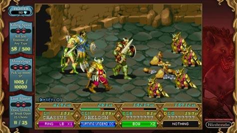 screenshots (II): dungeons und dragons: chronicles of mystara