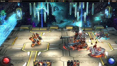 screens: chronoblade