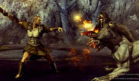 screenshots: clash of the titans
