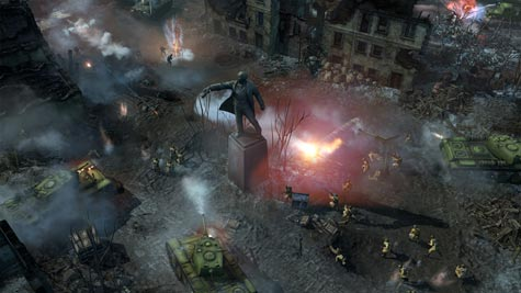screenshots: company of heroes 2