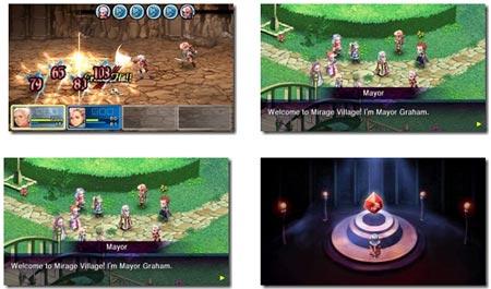 screenshots: crimson gem saga