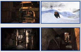 screenshots: cursed mountain