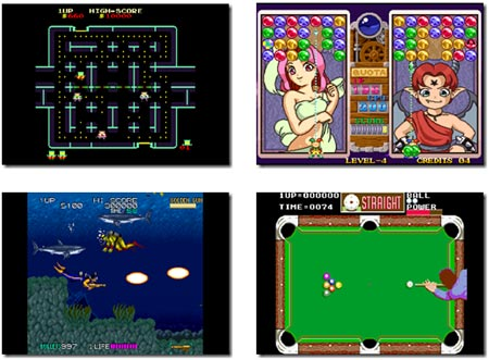 screenshots: data east arcade classics