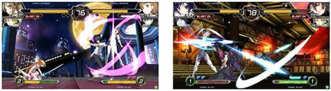 screenshots: dengeki bunko fighting climax