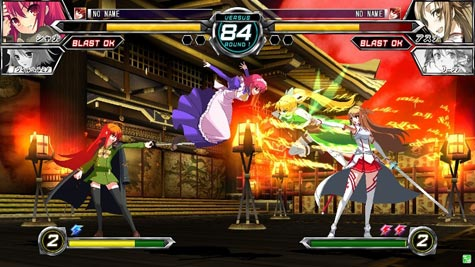 screens: dengeki bunko fighting climax