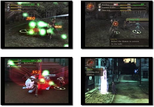 screenshots: devil summoner 2