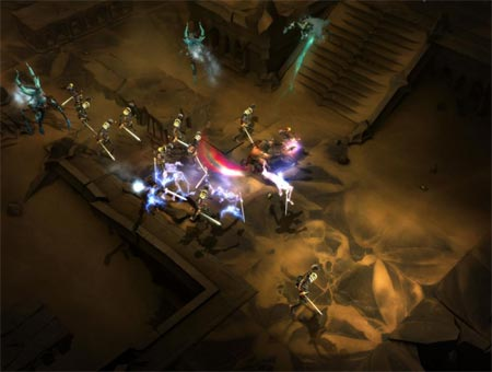 screenshots: diablo III
