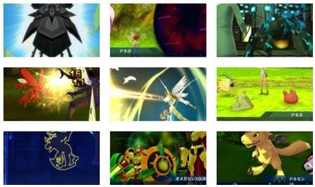 screenshots: digimon world re:digitize decode