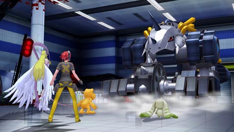 screens: digimon story cyber sleuth