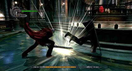screenshots: devil may cry 4