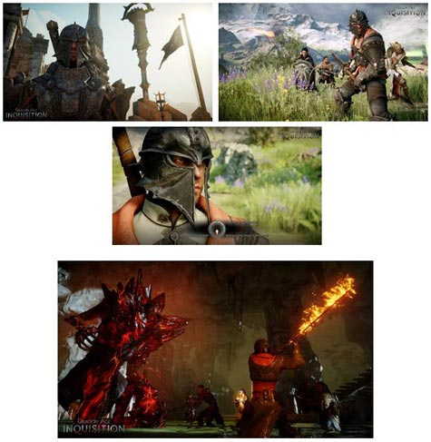 screenshots: dragon age inquisition