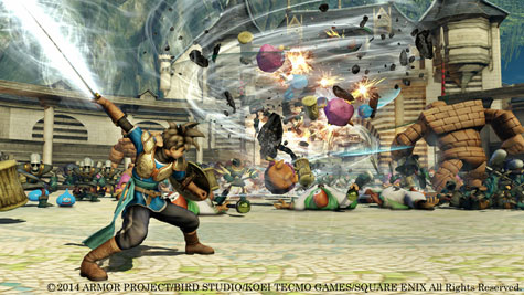 screens: dragon quest heroes