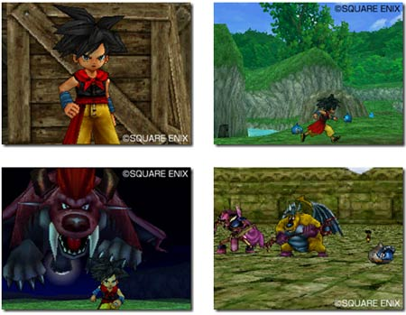 screens: dragon quest monster joker 2