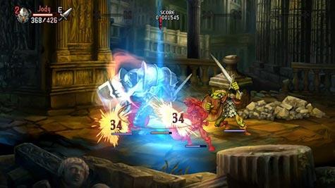 screenshots: dragon's crown
