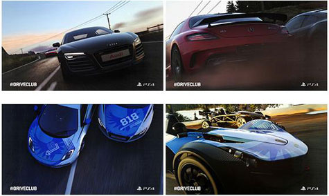 screens: driveclub hq